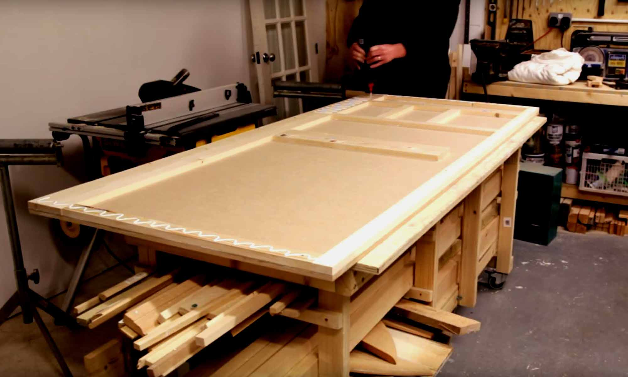 Making A MDF Door