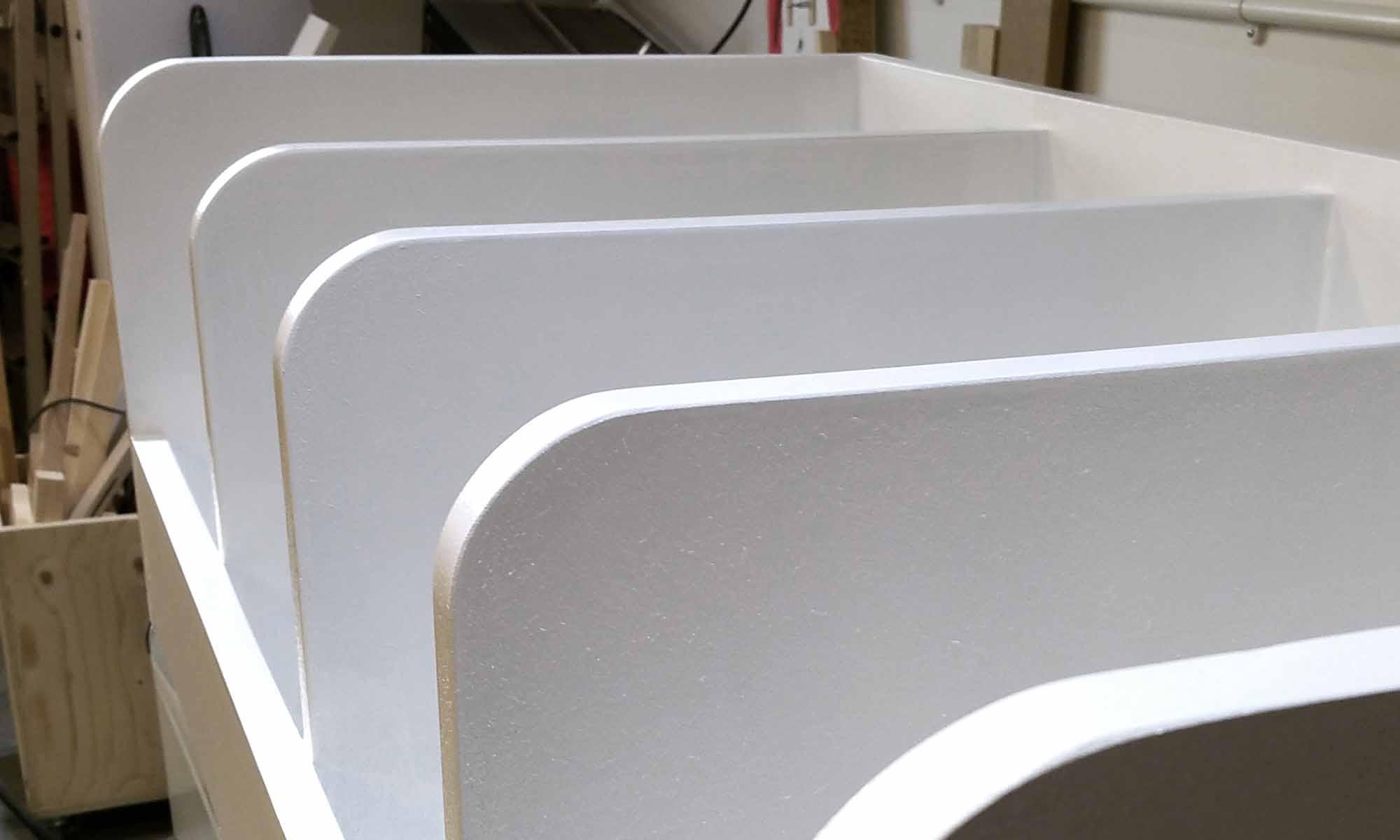 MDF Larder Shelves