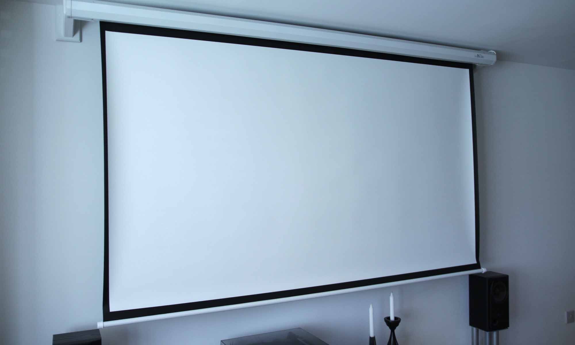 Installing A Projector Screen