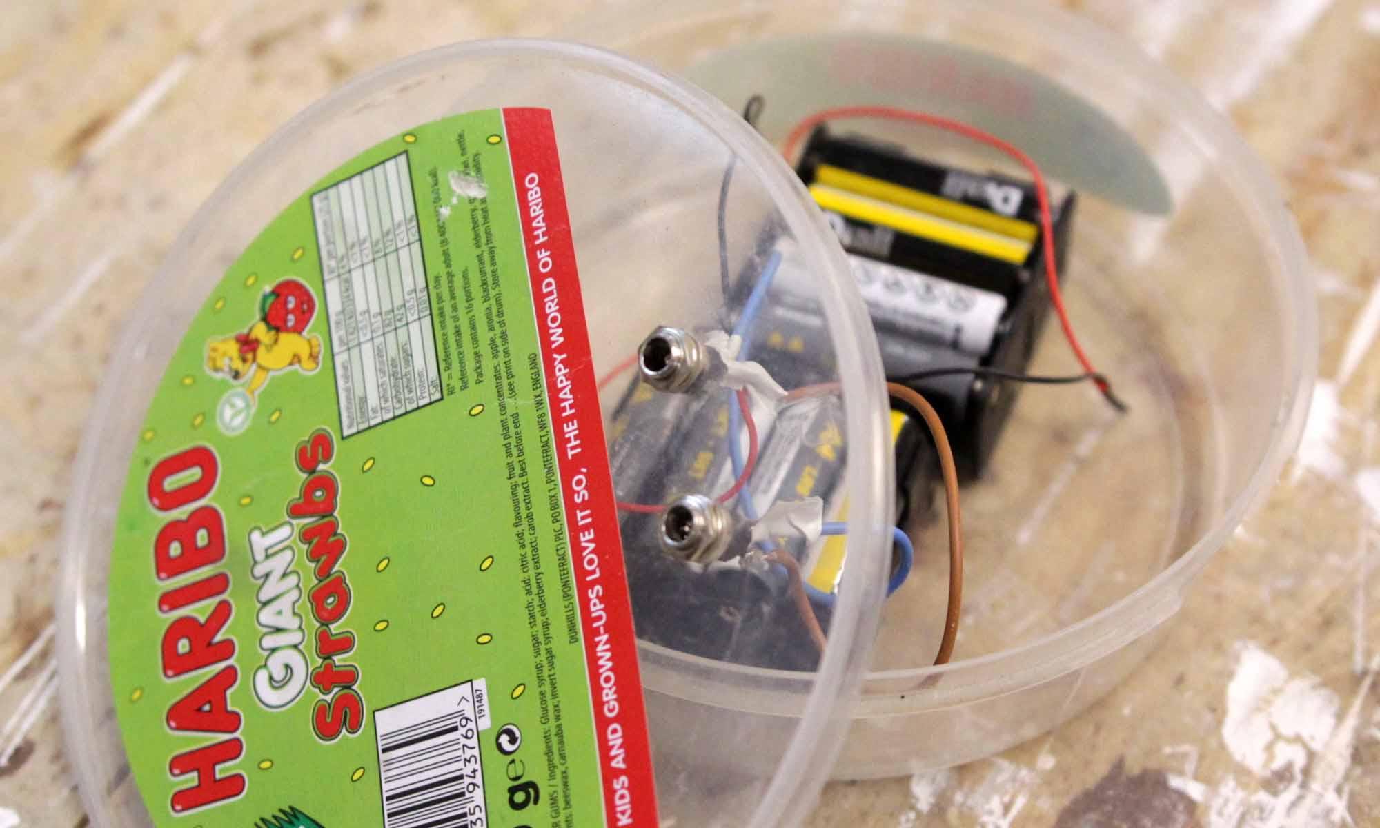 LED Lighting off AA Batteries