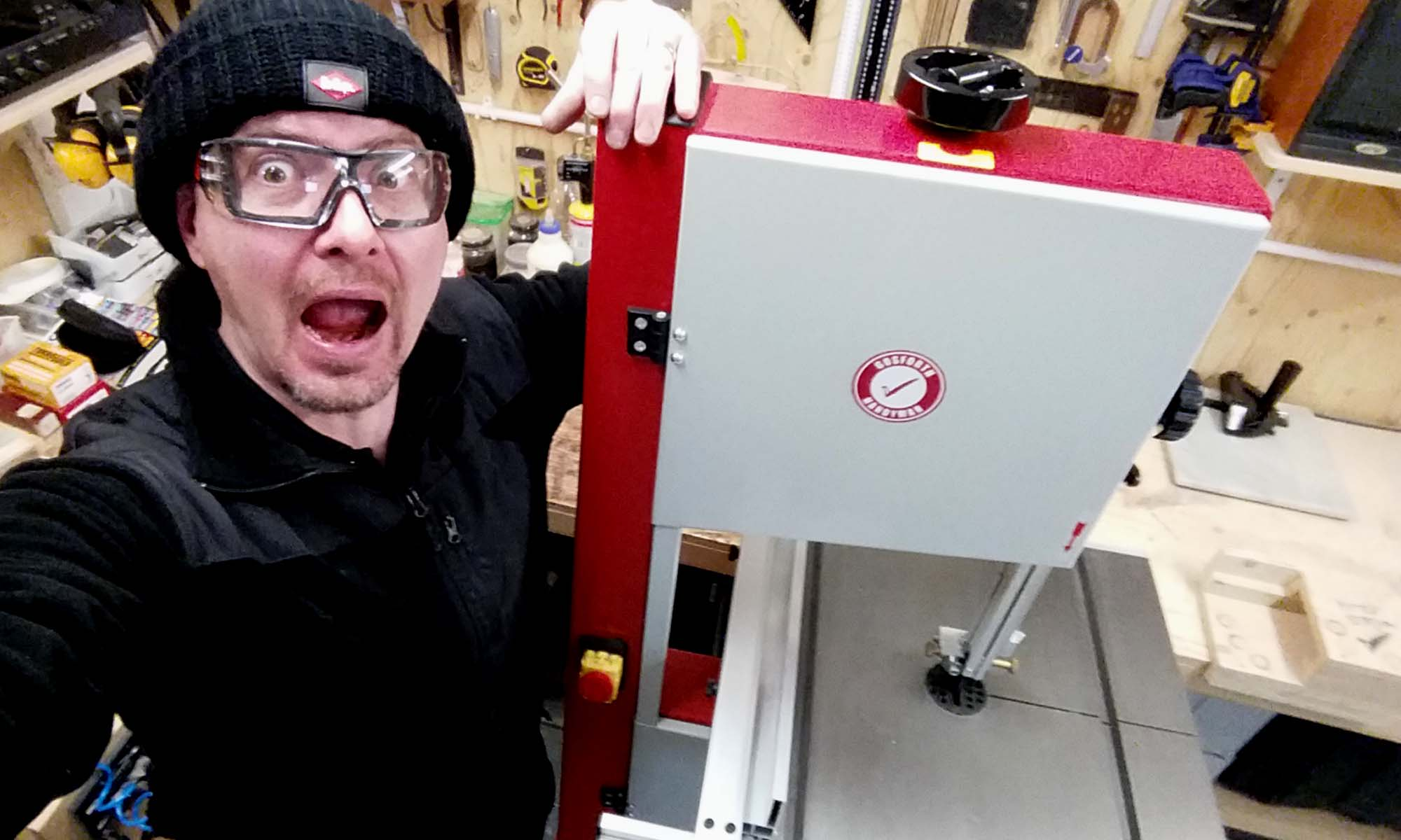 First Bandsaw
