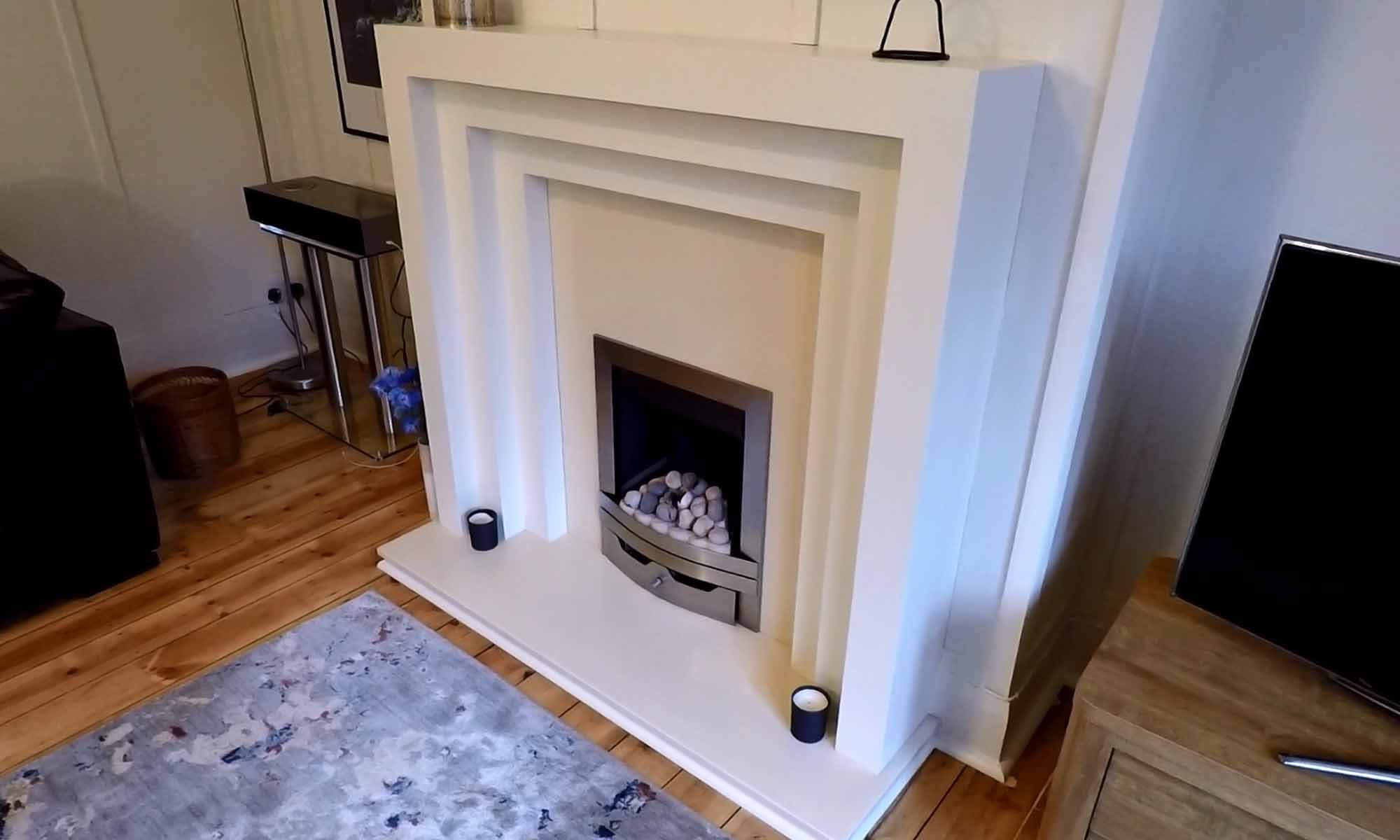 Art Deco Fire Surround