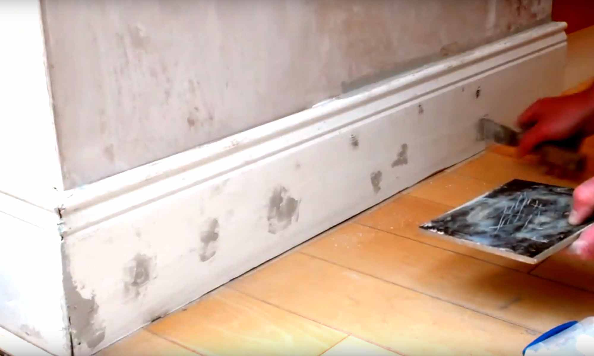 Skirting Baseboard Removal Refitting