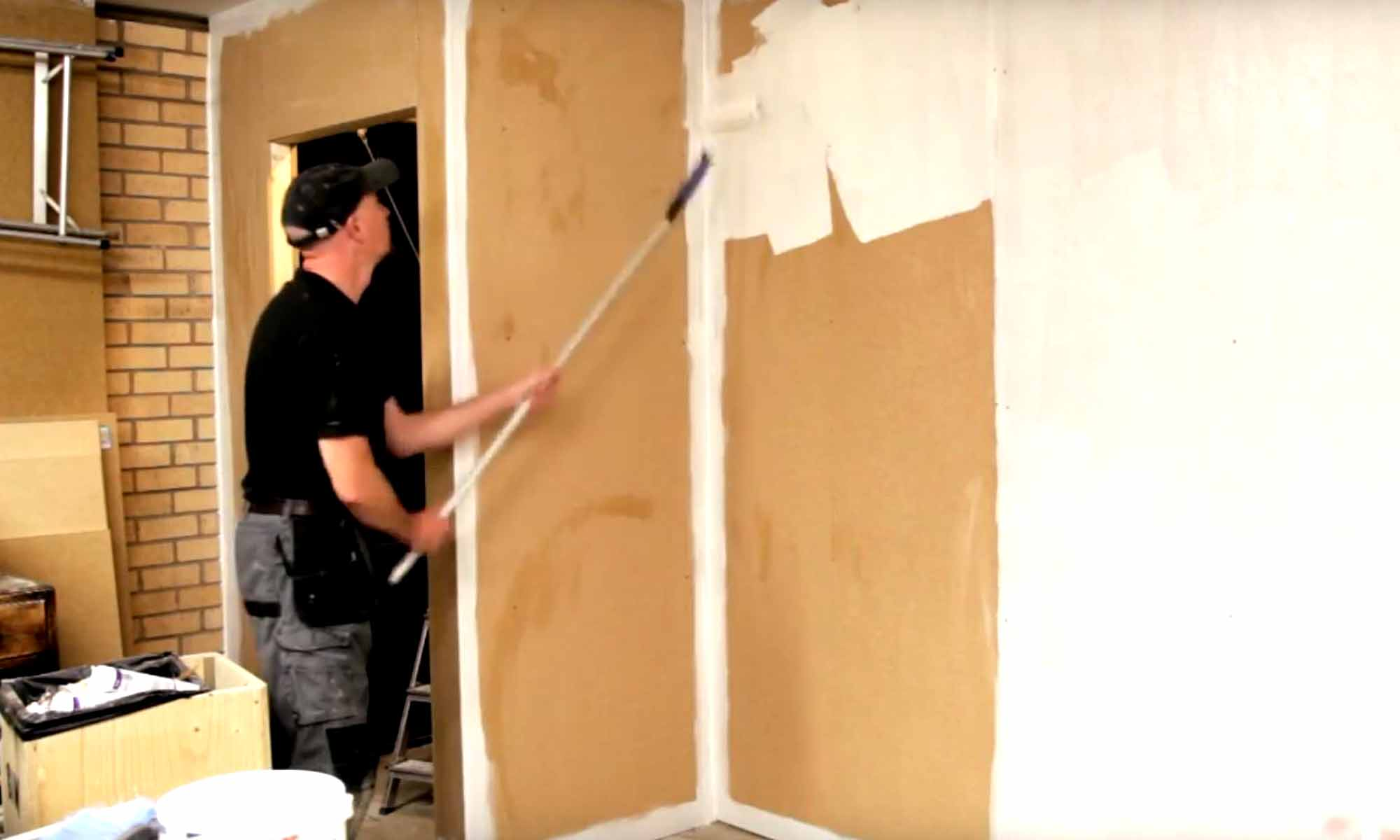 Painting MDF Walls