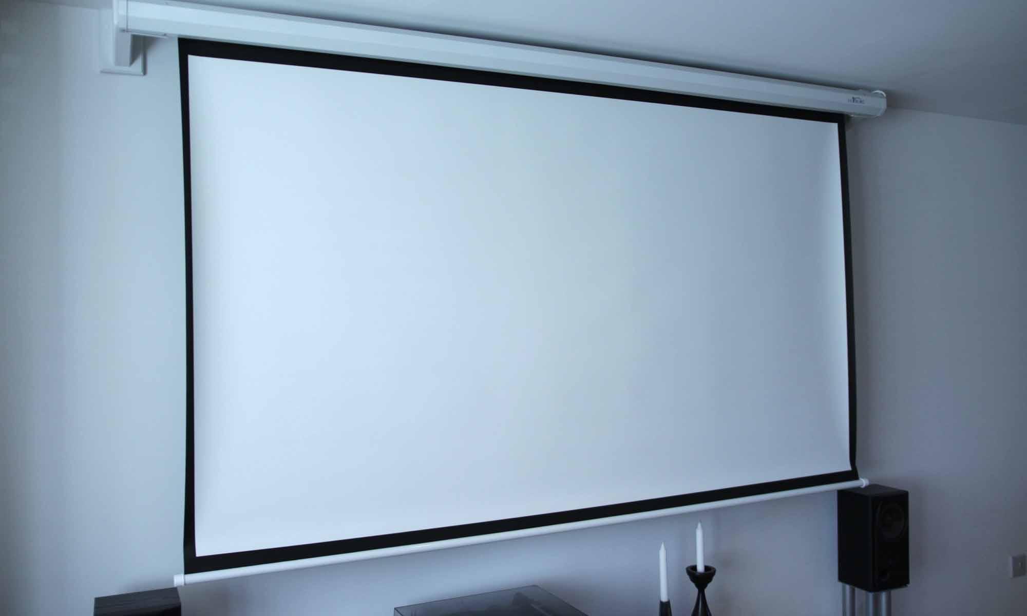 Installing A Projector Screen