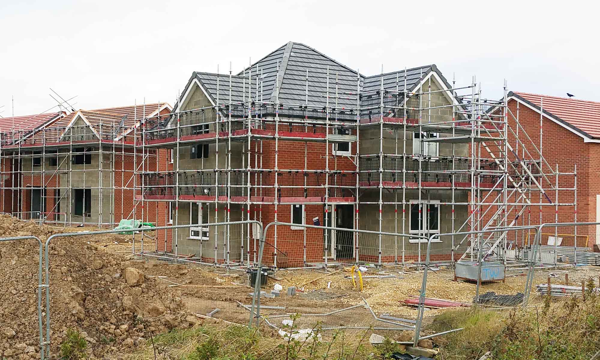 How New Houses are Built in the UK