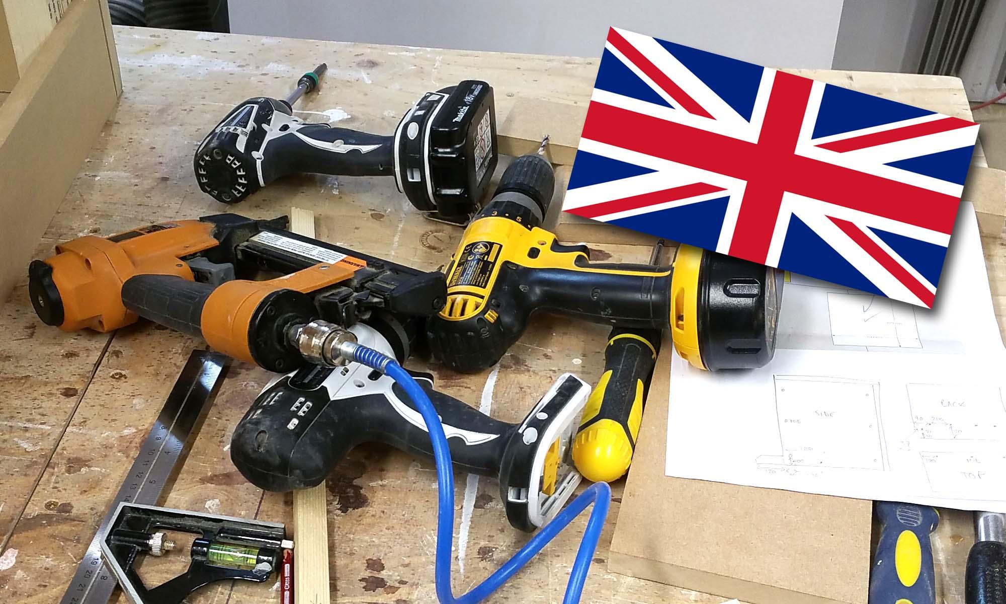 Joinery Tools I Use - UK