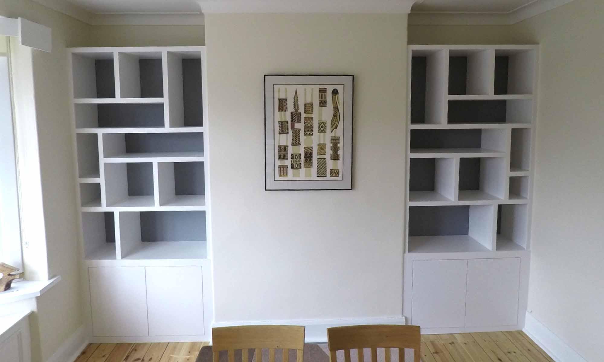 Random Design Bookshelves