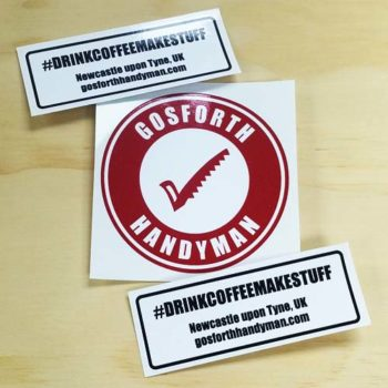 Gosforth Handyman Sticker Pack