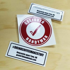 Gosforth Handyman Sticker Pack