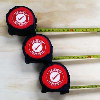 Metric Tape Measure 3 Pack
