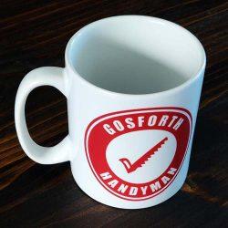 Gosforth Handyman Mug