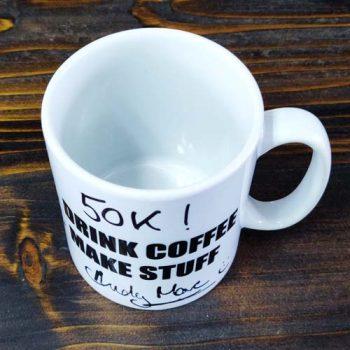 Gosforth Handyman Signed Mug
