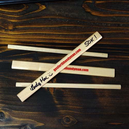 Gosforth Handyman Pencils