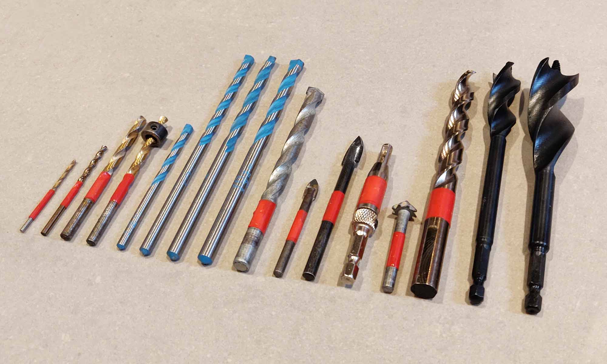 Essential Drill Bits