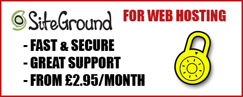 I use SiteGround for Web Hosting