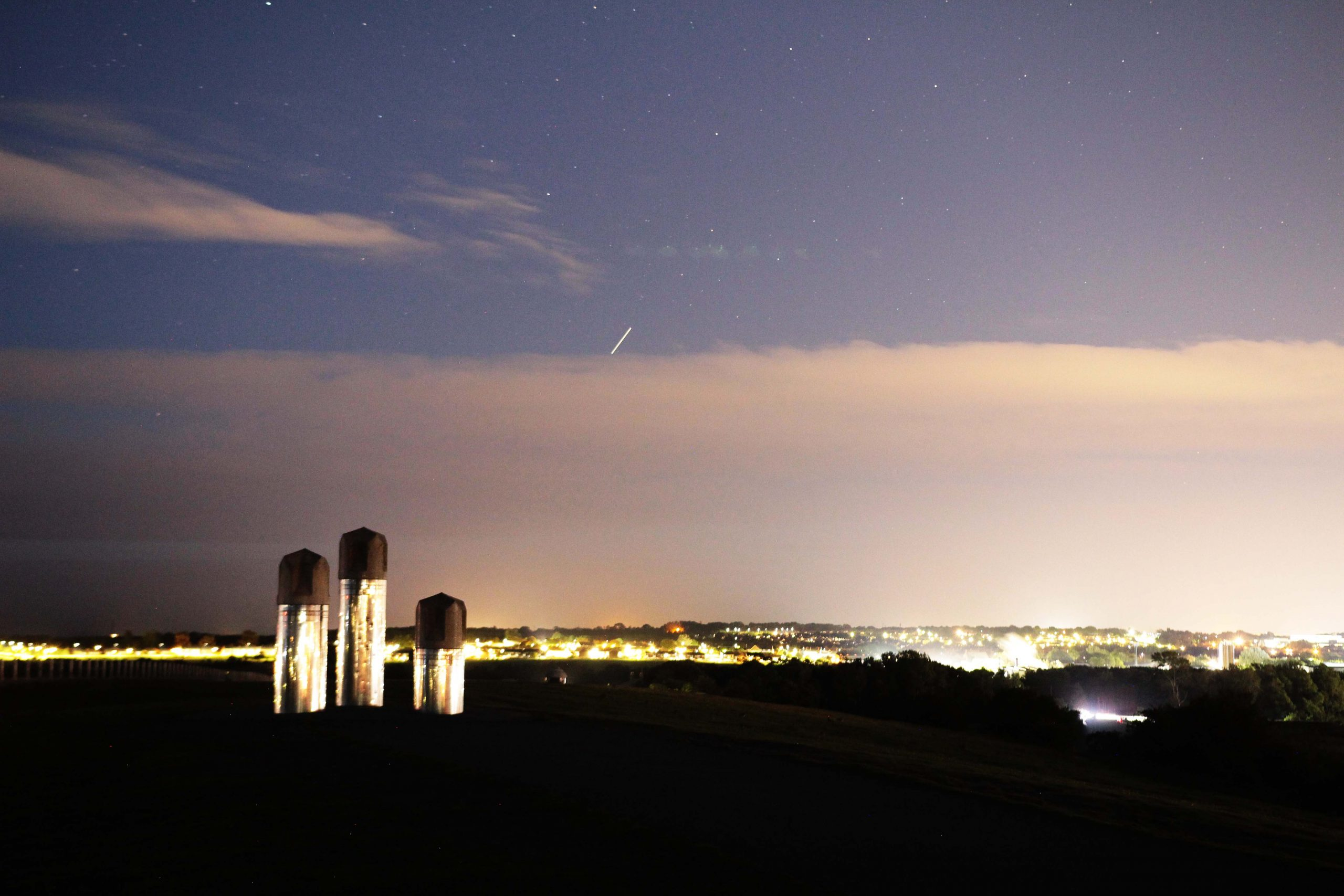 Weetslade at night