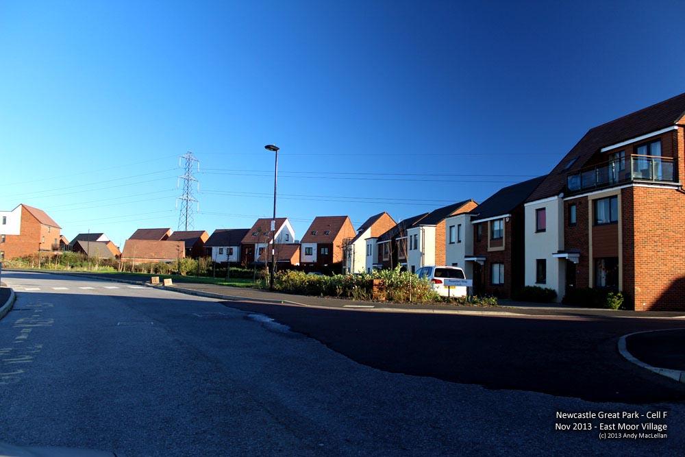 Newcastle Great Park - East Moor Village