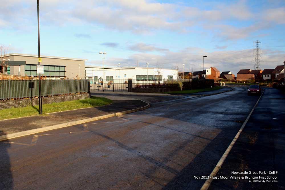 Newcastle Great Park - School