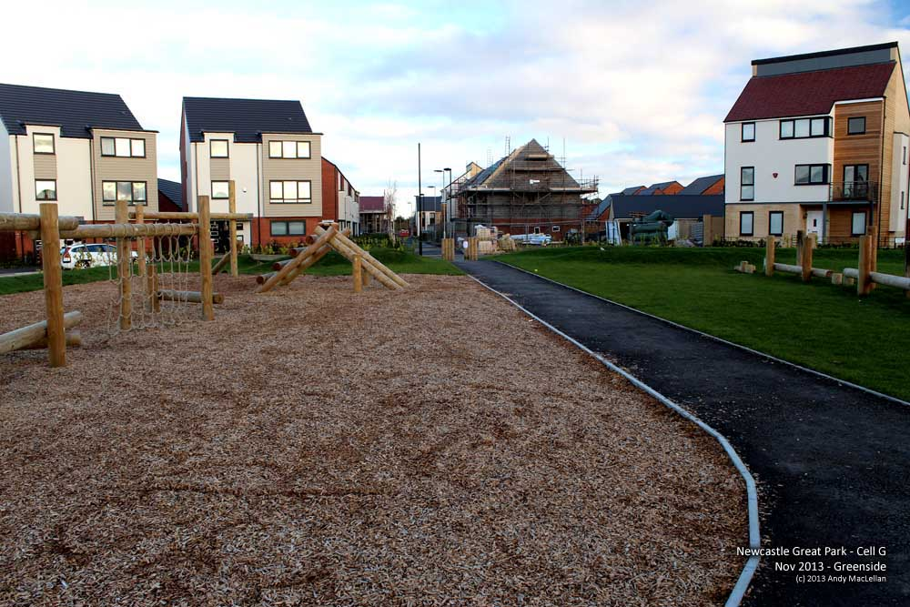 Newcastle Great Park - Greenside